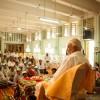 Sri M addressing-the-assembled-at-the-Jnyana-Prabodhini-School-auditorium-on-arrival,-Solapur,-Maharashtra)