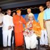 Sri M felicitated in Bengaluru