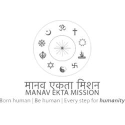 Manav Ekta Mission logo