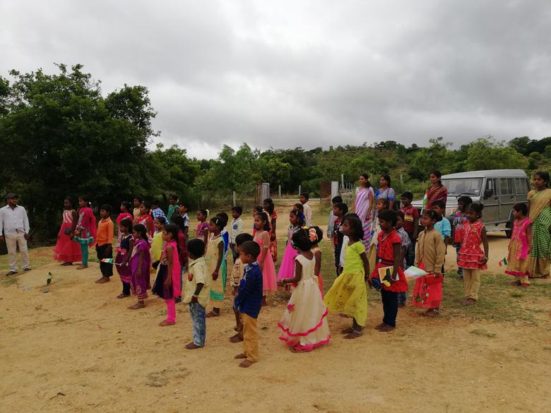 Independence-Day-celebrations-at-The-Satsang-Rural-Vidyalaya-1