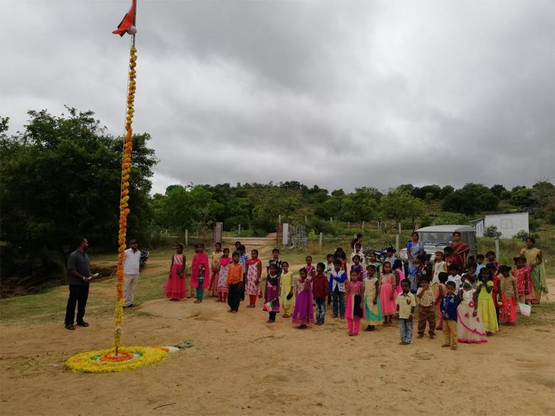 Independence-Day-celebrations-at-The-Satsang-Rural-Vidyalaya-4