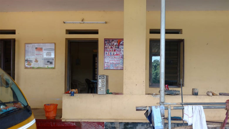 Sri-M-held-a-satsang-in-this-hall.-The-well-here-was-cleaned-up