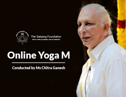 Registrations Closed |  The Satsang Foundation's Online Yoga M