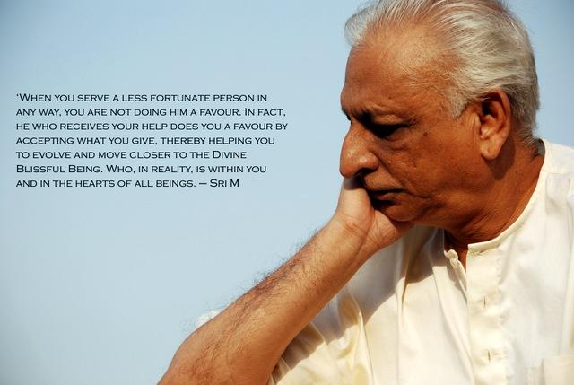 Sri M's quote on Karma Yoga