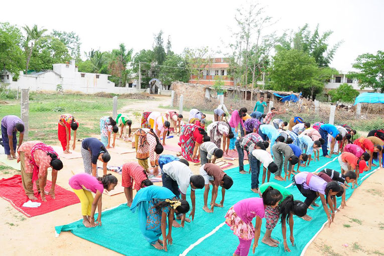 International-Day-of-Yoga-celebrated-at-The-Satsang-Foundation-campus-Madanapalle-1