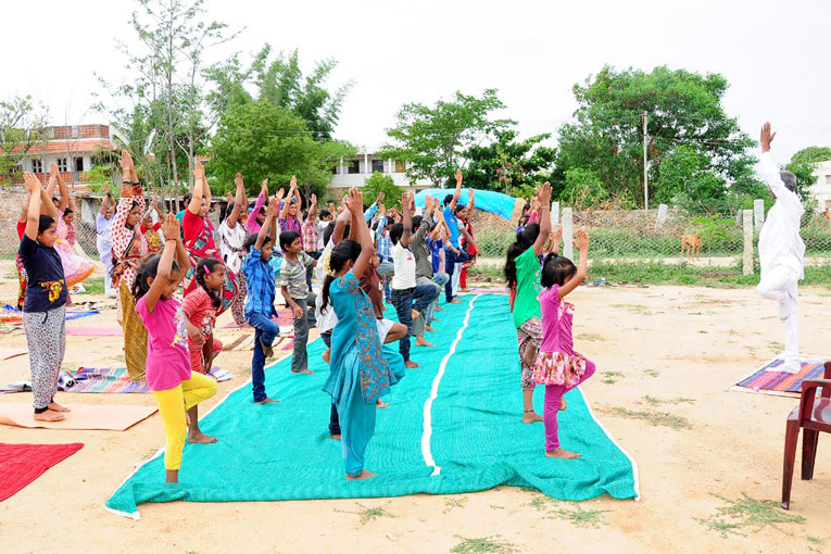 International-Day-of-Yoga-celebrated-at-The-Satsang-Foundation-campus-Madanapalle-7