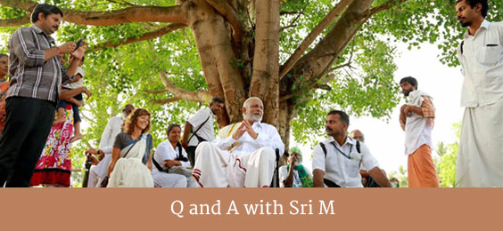Q and A with Sri M
