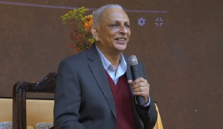 Sri M at the Hague 2018