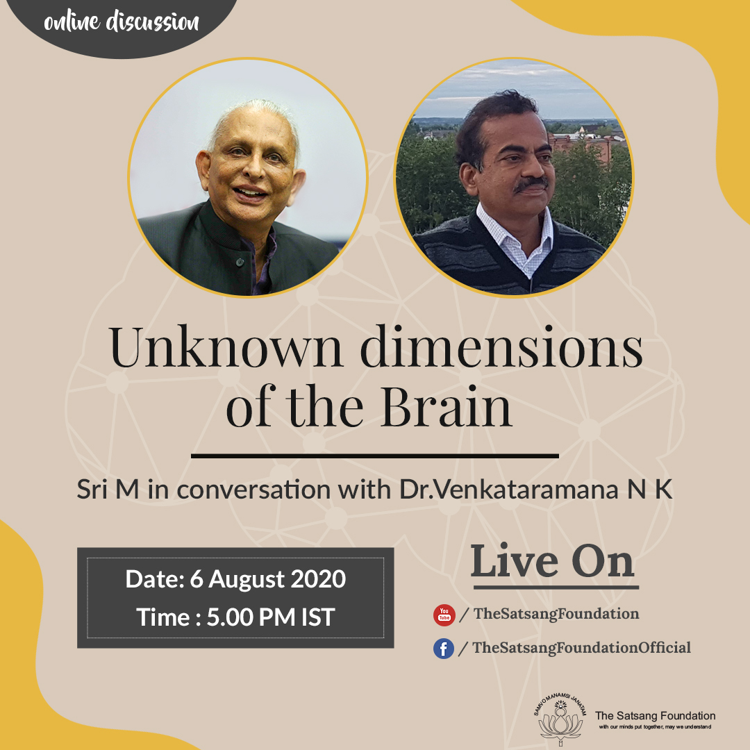 online conversation between Sri M and Dr.Venkataramana NK